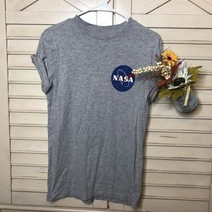 NASA grey t shirt